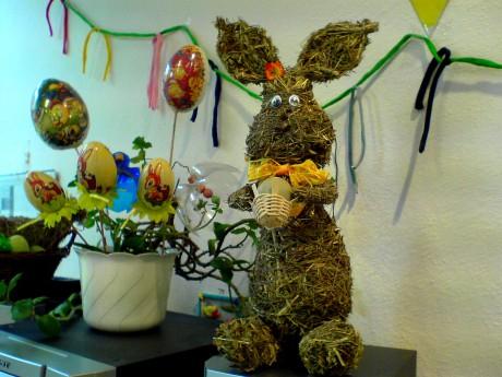 Velikonoční dekorace ve třídě